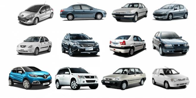 قیمت خودرو داخلی - قیمت ماشین نمایندگی و بازار