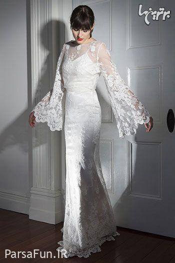 مدل لباس عروس جدید با حجاب 2018