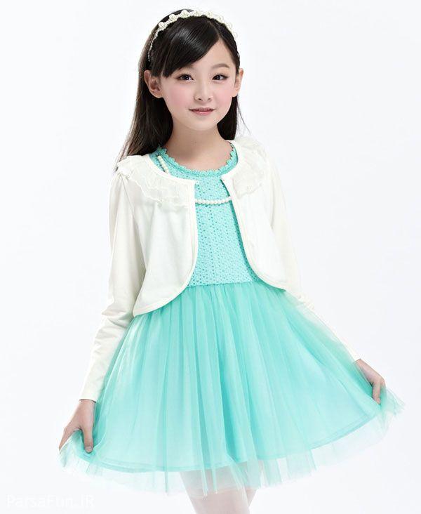 مدل لباس مجلسی بچگانه شیک 2018