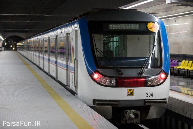 دانلود عکس نقشه جدید خطوط مترو تهران