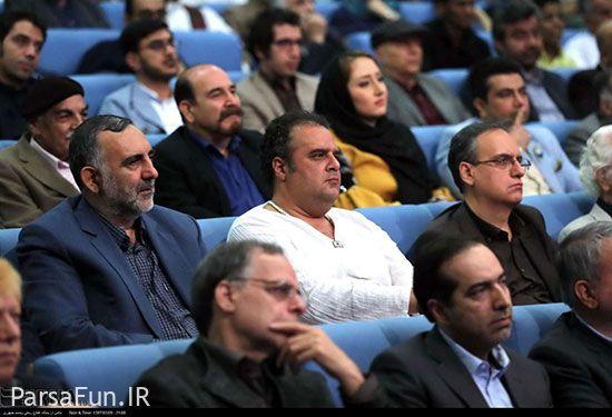 افطاری حسن روحانی و عکسهای بازیگران در افطاری