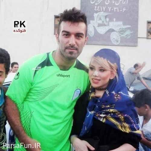 عکسهای حنیف عمران زاده و همسرش و بیوگرافی حنیف عمران زاده