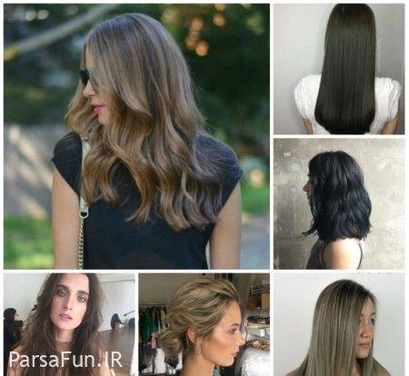 بهترین مدل رنگ مو زنانه 2018-رنگ مو جدید ترکیبی 97