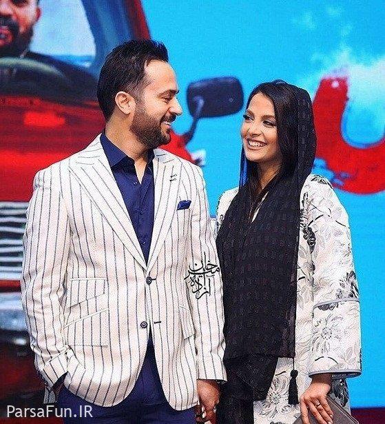 احمد مهرانفر و همسرش مونا فائزپور-بیوگرافی و عکس های جدید