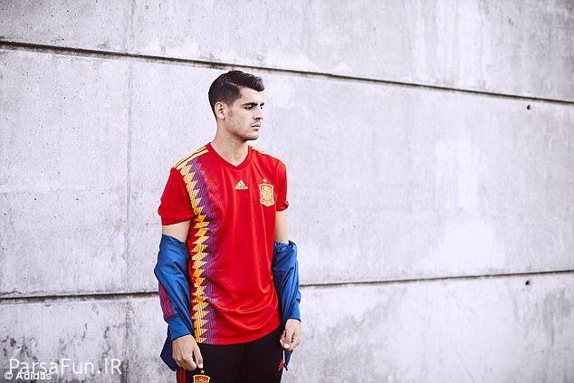 پیراهن تیم ملی کشورهای جام جهانی روسیه 2018
