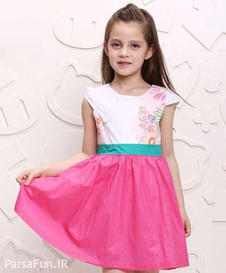 مدل لباس دخترانه 2018-جدیدترین لباس مجلسی دخترانه 97