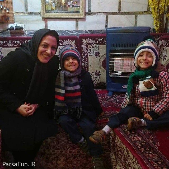 عکس و بیوگرافی المیرا شریفی مقدم گوینده شبکه خبر و همسرش داود عابدی