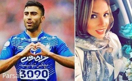 کاوه رضایی و همسرش فرنوش شیخی-بیوگرافی و عکس های عروسی