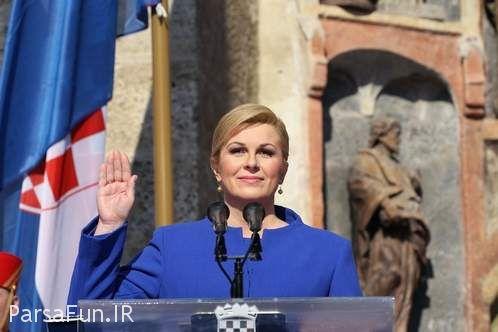 رئیس جمهور کرواسی کولیندا گرابار کیتاروویچ بیوگرافی و عکسهای همسرش