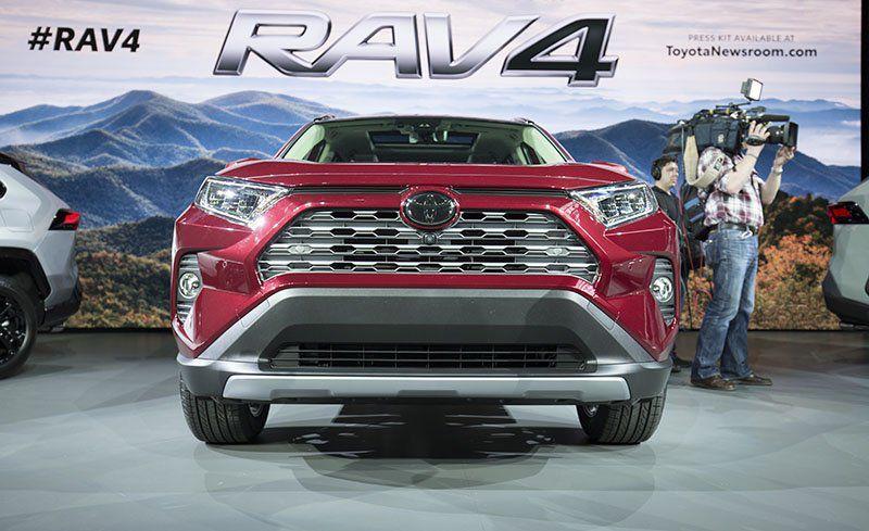 مشخصات و عکسهای خودرو تویوتا راو ۴ ۲۰۱۹-Toyota Rav4