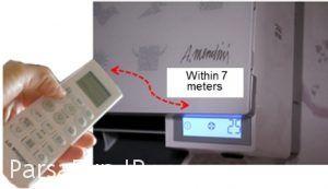 آموزش راهنمای استفاده از تنظیمات کنترل انواع کولرگازی