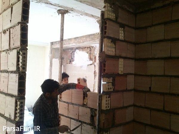 بازسازی ساختمان,تعمیرات ساختمان,هزینه بازسازی ساختمان در تهران