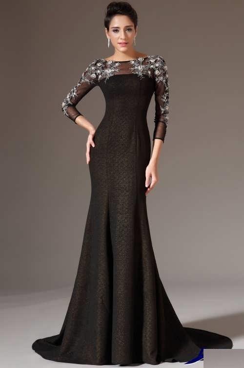 مدل لباس زنانه مجلسی بلند ۲۰۱۸-۱۳۹۷
